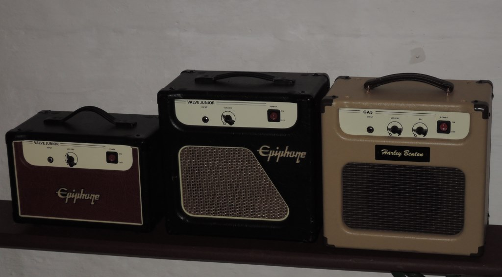 Amplifiers - Modifications - Valve Jr  / Harley Benton GA 5