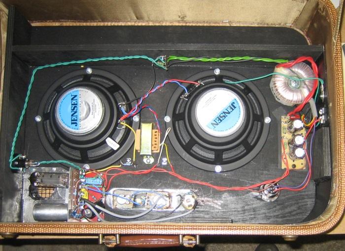 Amplifiers - Sonstige - Marios Kofferamp - harpamps.de