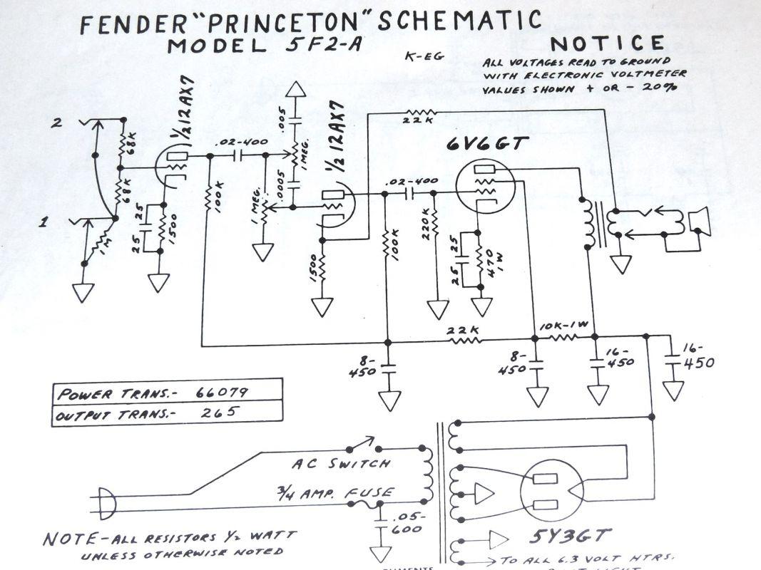 Tech Basic Circuits Pignose Strat Wiring Diagram Tweed Princeton