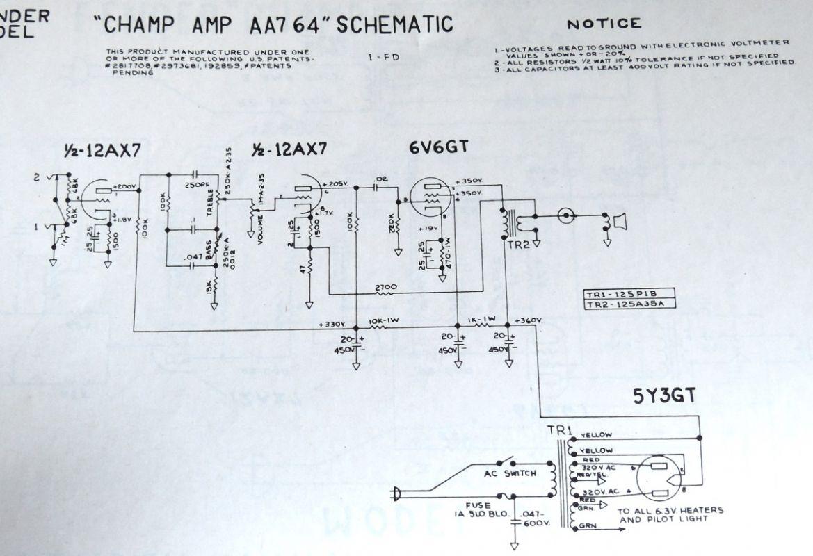 Tech Basic Circuits Voltmeter Schematic Silverface Champ